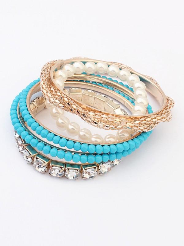 Occident Beaded Exquisite Multi-layered Hot Sale Bracelet