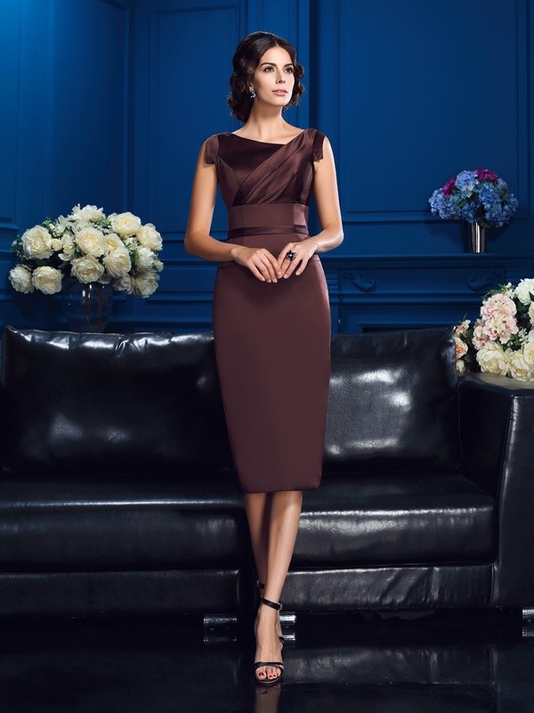 Other Knee-Length Brown Mother of the Bride Dresses