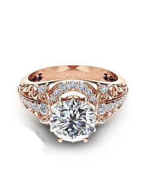 Beautiful Copper With Zircon Hot Sale Wedding Rings