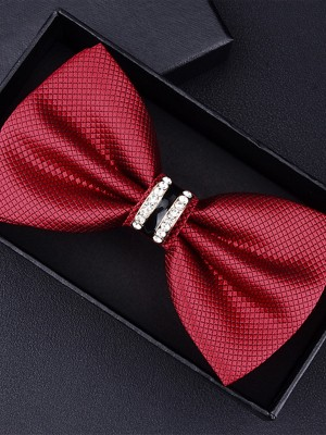 Modern Style Polyester Bow Tie