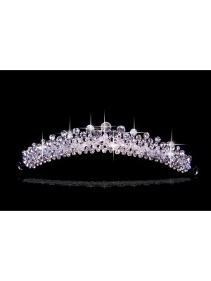 Pretty Czech Rhinestones Wedding Party Headpiece