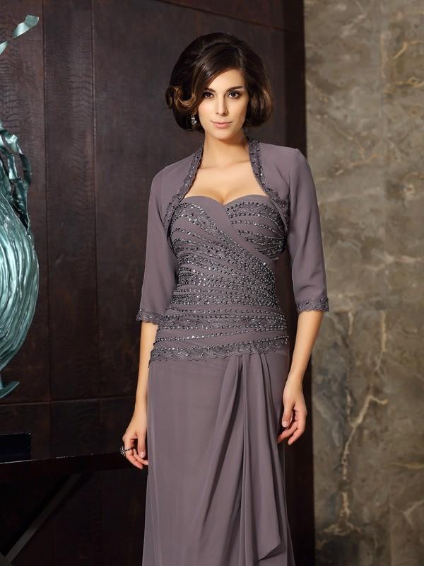 1/2 Sleeves Chiffon Special Occasion Fashion Wrap