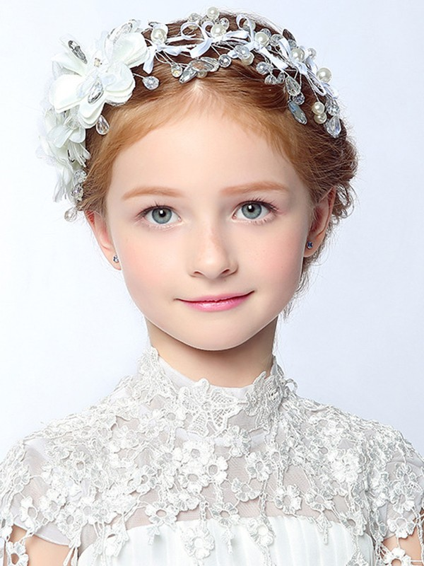 Luxurious Alloy With Imitation Pearl Headbands