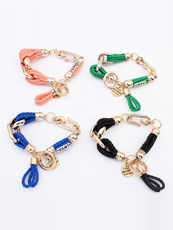 Occident Foreign trade Woven Hot Sale Bracelets