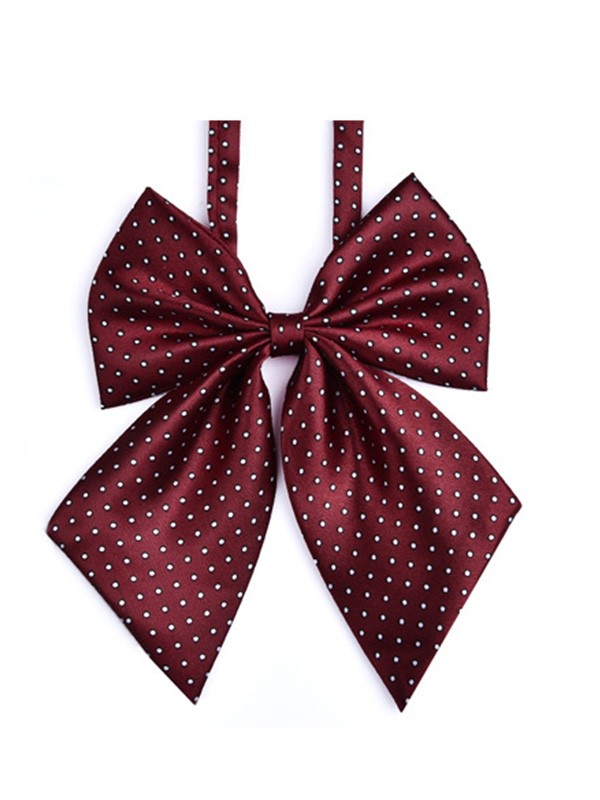 Classic Style Polyester Bow Tie For Women