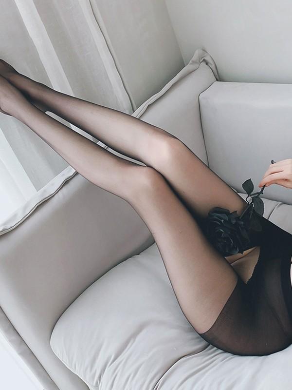 Transparent Open Crotch Sexy Lingerie