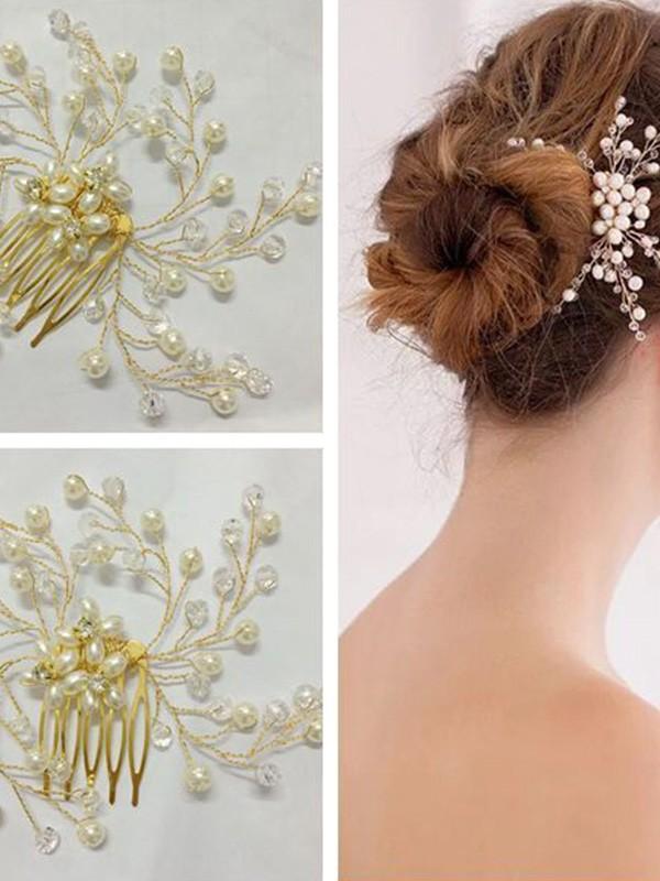 Trending Czech Pearl Headpieces
