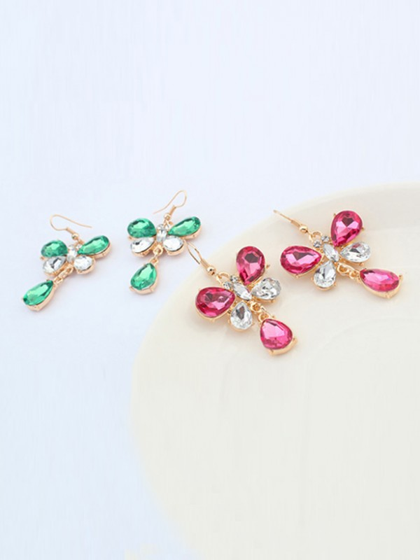 Occident Stylish New Butterfly Fashion Earrings