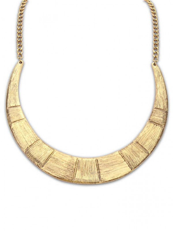 Occident Major suit Semicircle alloy Fashion Necklace