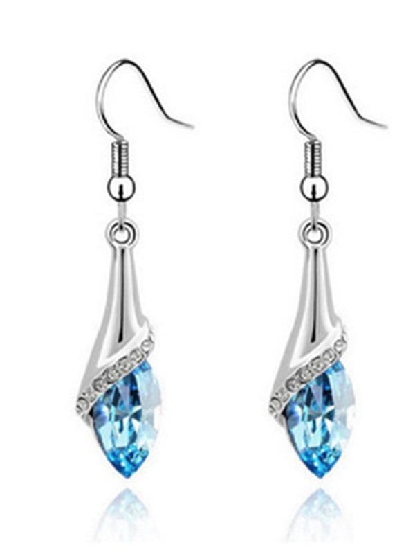 Elegant Alloy With Crystal Hot Sale Ladies's Earrings