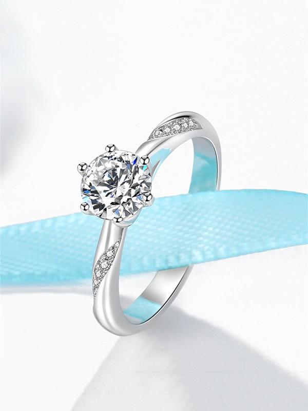 Fancy Copper With Zircon Hot Sale Wedding Rings