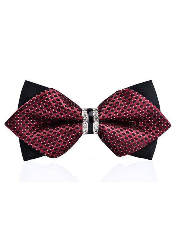Vintage Polyester Bow Tie